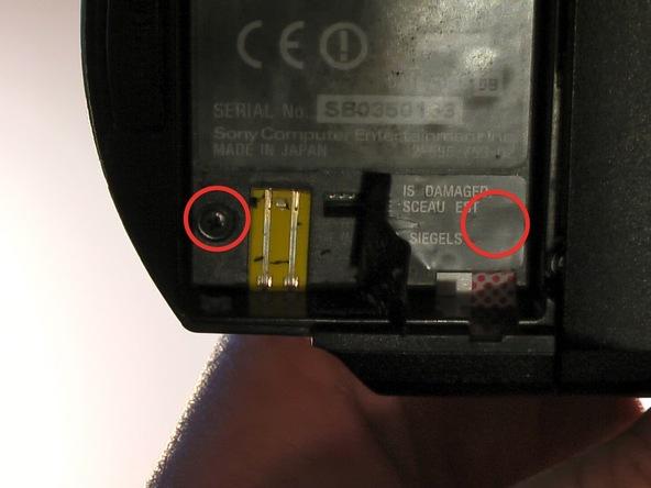 Как разобрать игровую консоль Sony PSP 1003 (5)