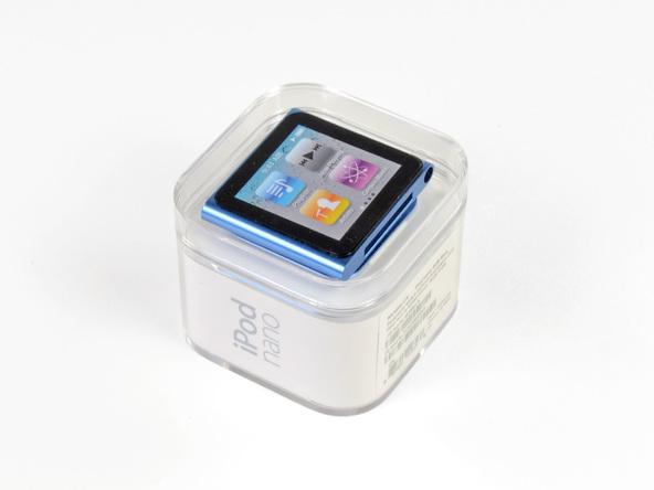 Как разобрать плеер Apple iPod Nano 6-го поколения 2011 года (3)