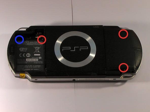 Как разобрать игровую консоль Sony PSP 1003