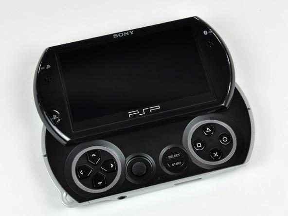 Как разобрать игровую консоль Sony PSP Go (5)