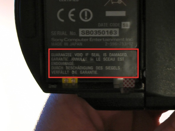 Как разобрать игровую консоль Sony PSP 1003 (6)