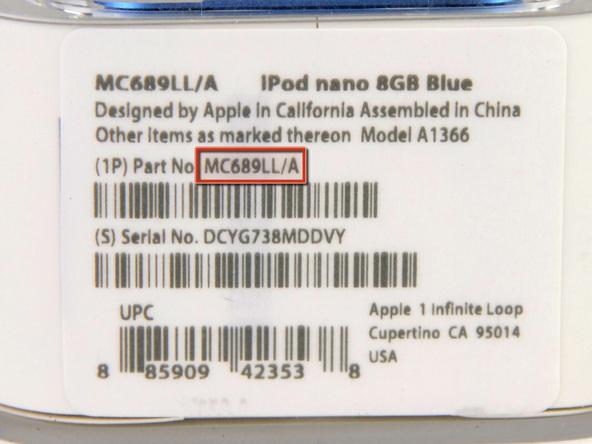 Как разобрать плеер Apple iPod Nano 6-го поколения 2011 года (4)