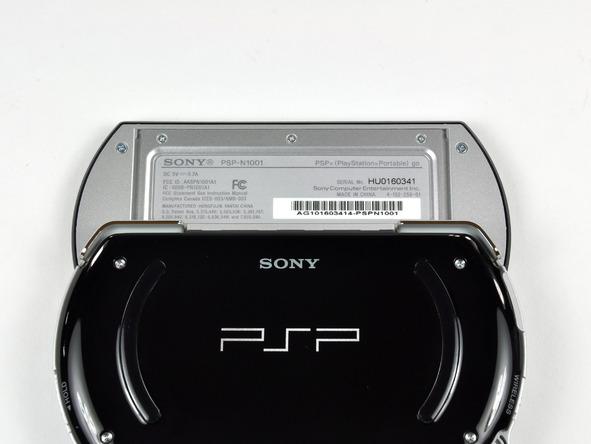 Как разобрать игровую консоль Sony PSP Go (6)