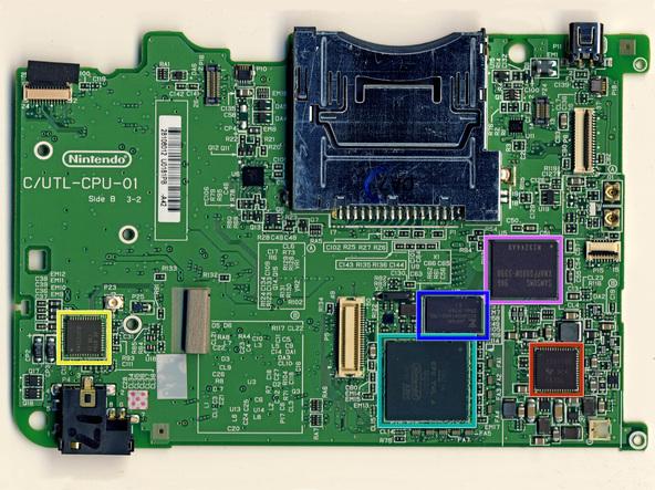 Как разобрать игровую консоль Nintendo DSi XL (31)