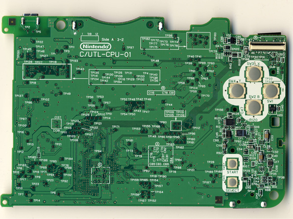 Как разобрать игровую консоль Nintendo DSi XL (32)