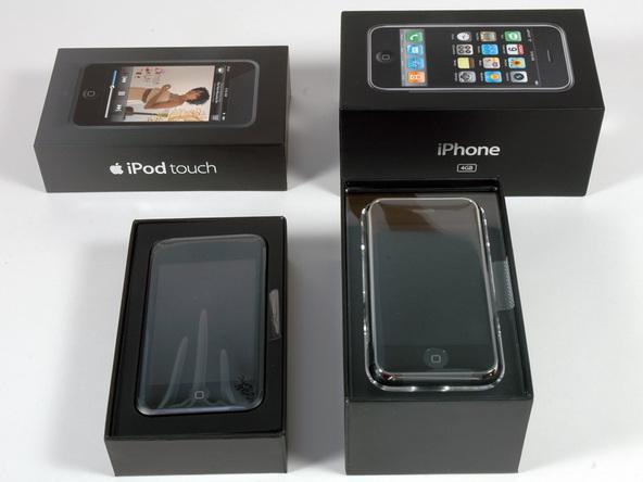 Как разобрать плеер Apple iPod Touch 1-го поколения (3)