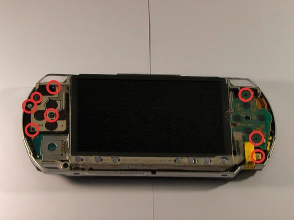 Как разобрать игровую консоль Sony PSP 1003 (9)