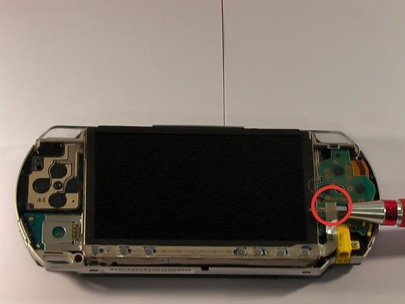 Как разобрать игровую консоль Sony PSP 1003 (10)