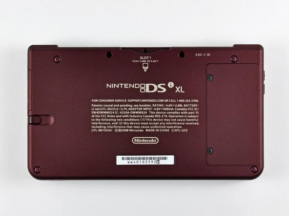 Как разобрать игровую консоль Nintendo DSi XL (5)