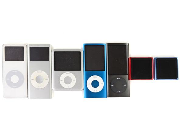 Как разобрать плеер Apple iPod Nano 6-го поколения 2011 года (6)