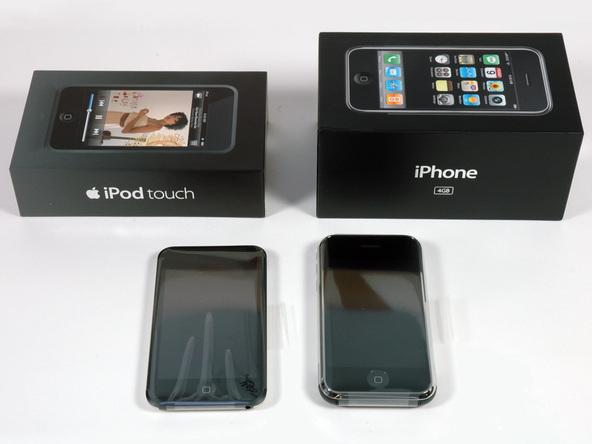 Как разобрать плеер Apple iPod Touch 1-го поколения (5)