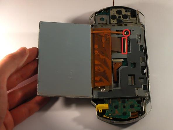 Как разобрать игровую консоль Sony PSP 1003 (14)