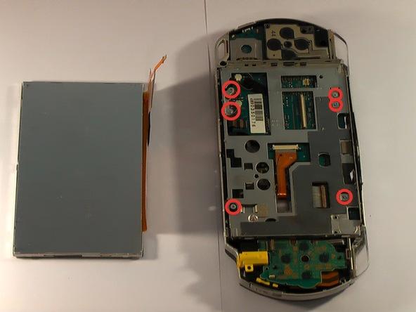 Как разобрать игровую консоль Sony PSP 1003 (15)