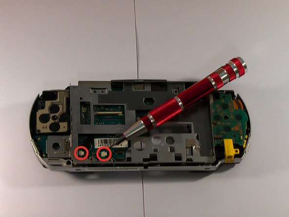 Как разобрать игровую консоль Sony PSP 1003 (16)