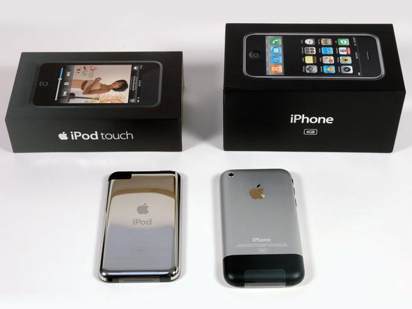 Как разобрать плеер Apple iPod Touch 1-го поколения (6)