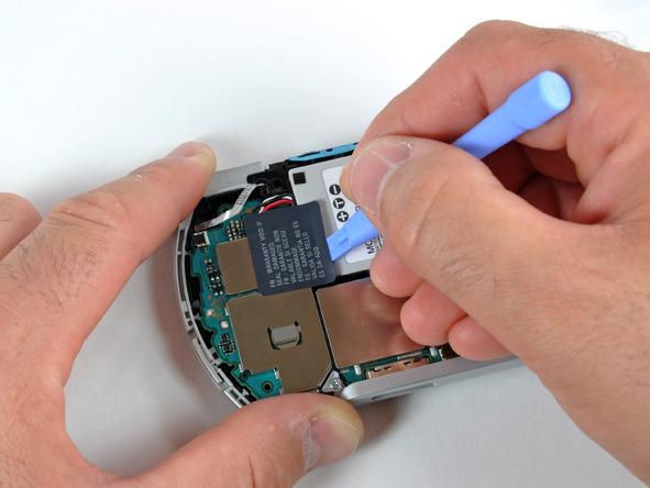 Как разобрать игровую консоль Sony PSP Go (14)