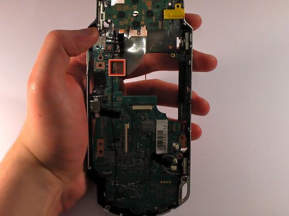 Как разобрать игровую консоль Sony PSP 1003 (17)