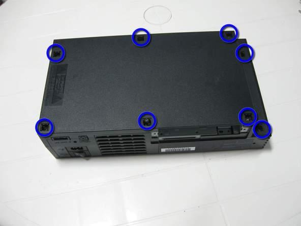 Как разобрать игровую консоль Sony PlayStation 2 (16)