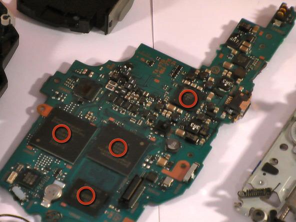 Как разобрать игровую консоль Sony PSP 1003 (23)