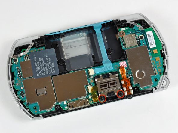 Как разобрать игровую консоль Sony PSP Go (18)