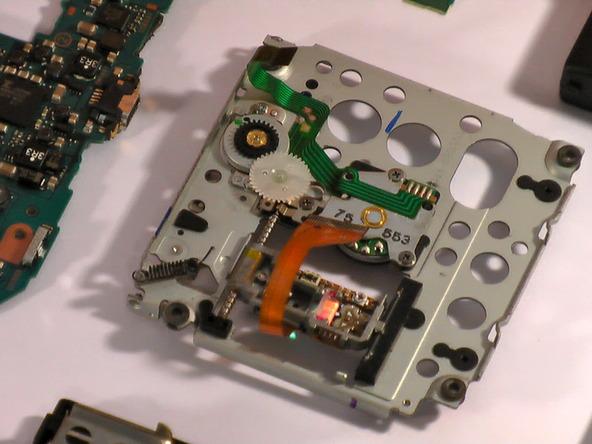 Как разобрать игровую консоль Sony PSP 1003 (25)