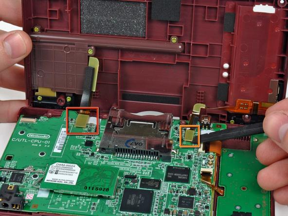 Как разобрать игровую консоль Nintendo DSi XL (12)