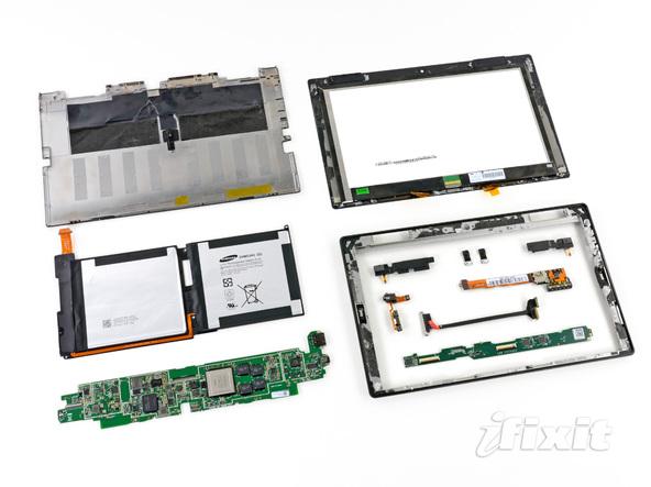 Как разобрать планшет Microsoft Surface