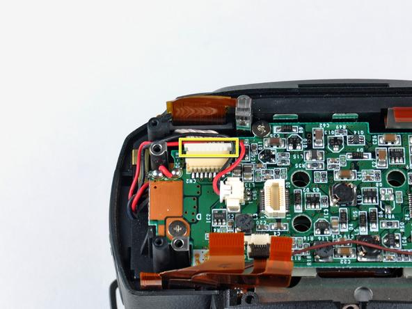 Как разобрать фотоаппарат Nikon D70 для замены различных компонентов (6)