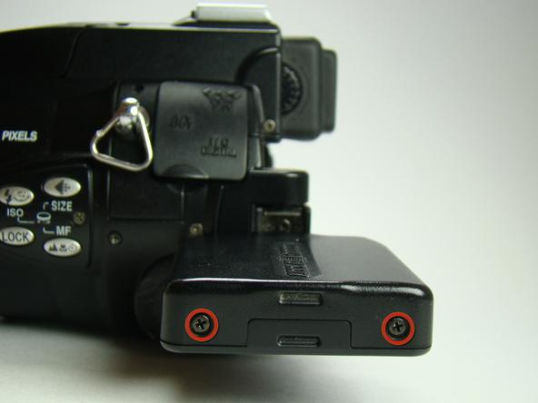 Как разобрать фотоаппарат Nikon Coolpix E5700 для замены различных компонентов (1)