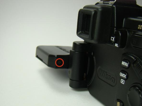 Как разобрать фотоаппарат Nikon Coolpix E5700 для замены различных компонентов (2)