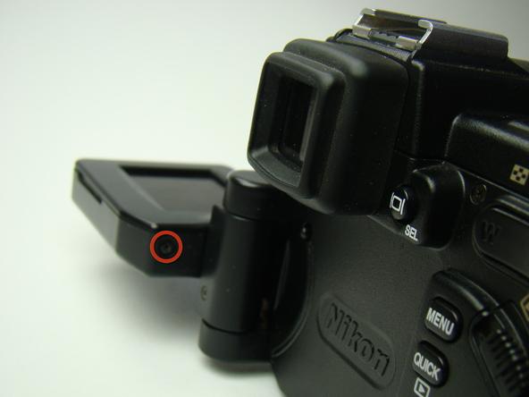 Как разобрать фотоаппарат Nikon Coolpix E5700 для замены различных компонентов (3)
