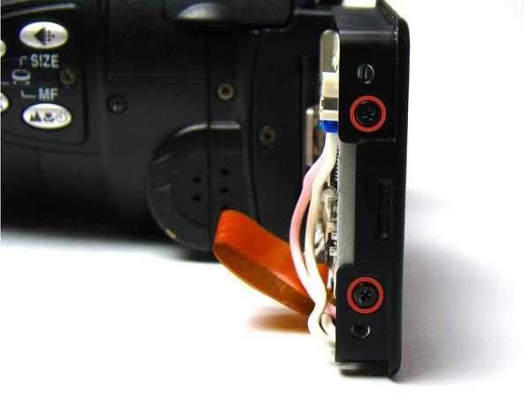 Как разобрать фотоаппарат Nikon Coolpix E5700 для замены различных компонентов (9)