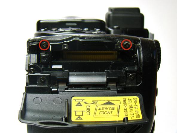 Как разобрать фотоаппарат Nikon Coolpix E5700 для замены различных компонентов (13)