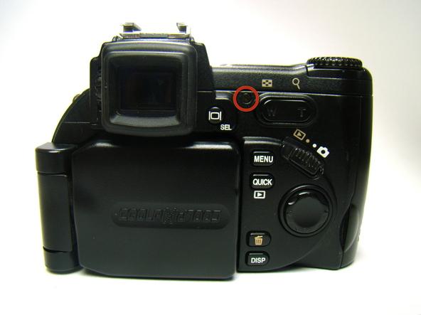 Как разобрать фотоаппарат Nikon Coolpix E5700 для замены различных компонентов (14)