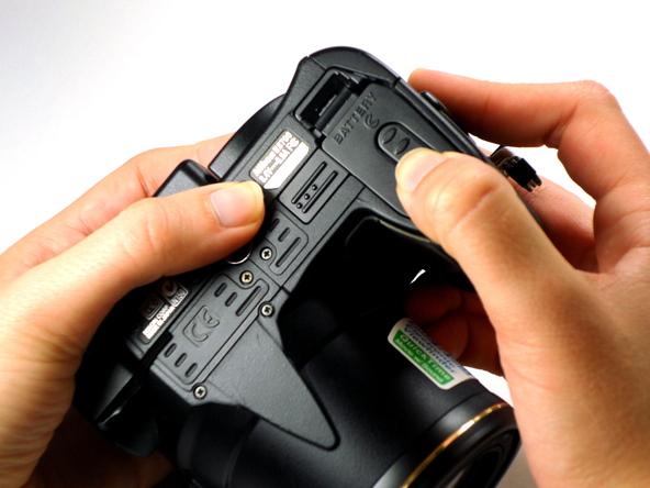 Как разобрать фотоаппарат Nikon Coolpix E5700 для замены различных компонентов (20)