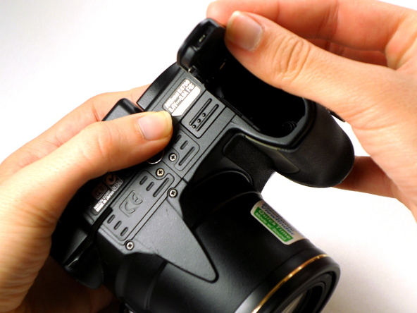 Как разобрать фотоаппарат Nikon Coolpix E5700 для замены различных компонентов (21)