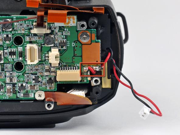 Как разобрать фотоаппарат Nikon D70 для замены различных компонентов (25)