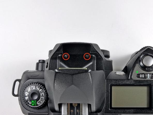 Как разобрать фотоаппарат Nikon D70 для замены различных компонентов (30)
