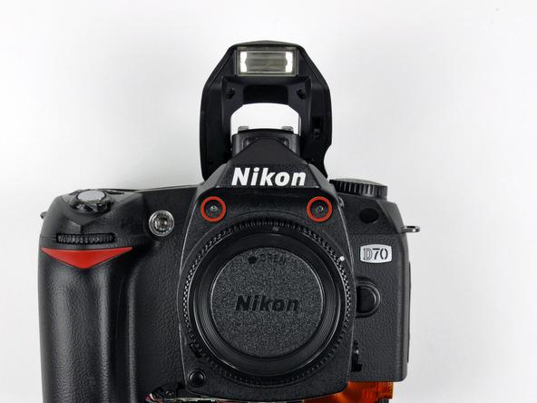 Как разобрать фотоаппарат Nikon D70 для замены различных компонентов (31)