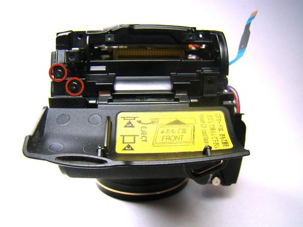 Как разобрать фотоаппарат Nikon Coolpix E5700 для замены различных компонентов (24)
