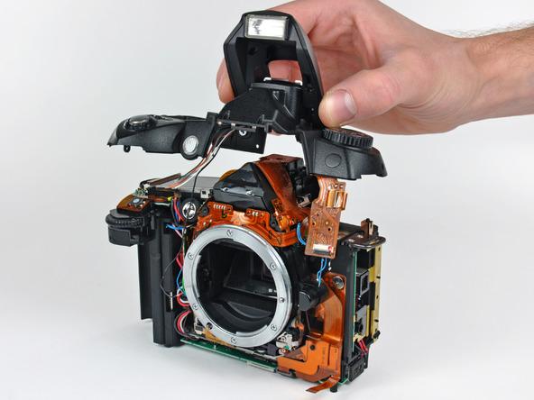 Как разобрать фотоаппарат Nikon D70 для замены различных компонентов (59)