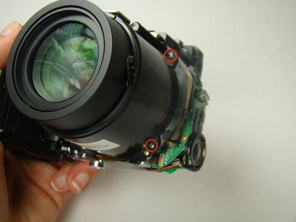 Как разобрать фотоаппарат Nikon Coolpix E5700 для замены различных компонентов (32)