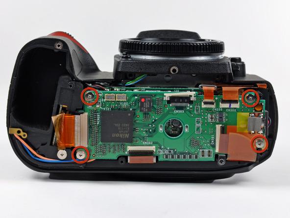 Как разобрать фотоаппарат Nikon D70 для замены различных компонентов (76)