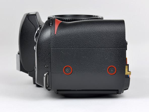 Как разобрать фотоаппарат Nikon D70 для замены различных компонентов (86)