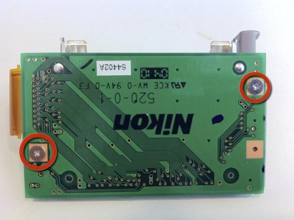 Как разобрать фотоаппарат Nikon D70 для замены различных компонентов (104)