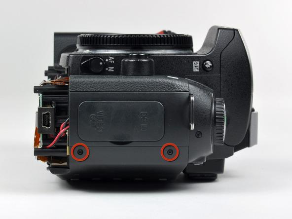 Как разобрать фотоаппарат Nikon D70 для замены различных компонентов (87)