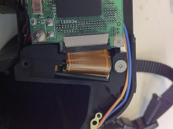 Как разобрать фотоаппарат Nikon D70 для замены различных компонентов (99)