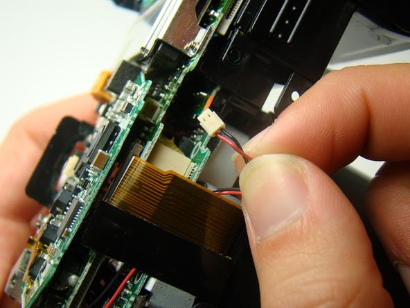 Как разобрать фотоаппарат Nikon Coolpix E5700 для замены различных компонентов (38)