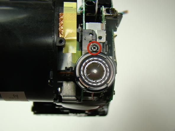 Как разобрать фотоаппарат Nikon Coolpix E5700 для замены различных компонентов (39)