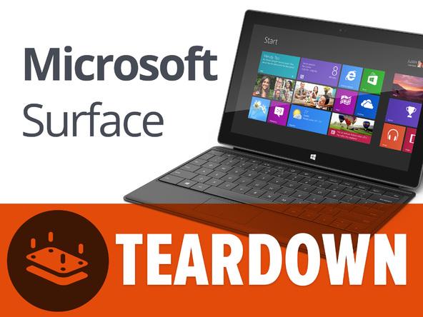 Как разобрать планшет Microsoft Surface (1)